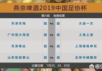 足協盃1/4決賽對陣出爐,恆大,上港,魯能,國安提前遭遇,你看好誰晉級四強?