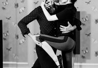 許晴和外國教練貼身跳國標舞 身體柔韌表現力足