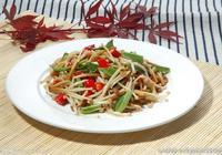 金針菇這樣吃,涼拌小米辣金針菇的做法,美味家常小菜,趕緊收藏