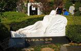 鏡頭下:民國影星阮玲玉墓地