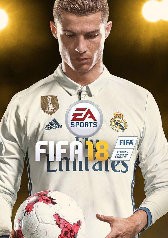 C羅擔任FIFA18全球封面代言人,C羅時代,果真球王C羅
