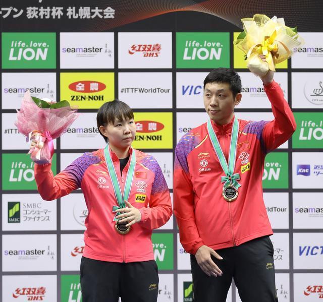 許昕一戰封神!日本公開賽,許昕包攬男單、男雙、混雙三項冠軍