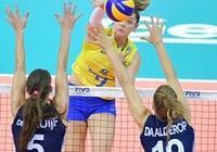 巴西女排3-1力克俄羅斯 取女排大冠軍盃開門紅