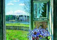 油畫世界:波蘭斯坦尼斯風景油畫