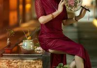 旗袍:絲雨旗袍