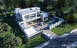 兩層現代別墅,國外別墅該有的樣子,我們農村也可以有