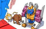 擎天柱的寵物們