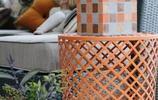 私家庭院,水泥磚除了可用於建築外,還可被創造出更多有趣的作品