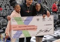 米切爾給自己4年級時老師的女兒提供25000美元獎學金