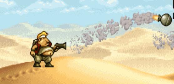《合金彈頭》系列,變成胖子後子彈和炸彈的變化,一場屠殺之旅開啟