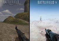 《戰地5》與《戰地1942》對比 17年的巨大畫質進步