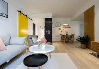 買了新房不一定要豪華裝修,像這樣簡單、舒適的設計也非常棒!