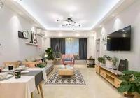 三口之家就這麼設計,85㎡簡約北歐風,臥室背景牆也忒好看了點!
