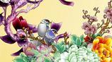 手機壁紙20張,花中之王牡丹,和魚相搭配,構成了絕美圖片