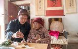 """""""老壽星""""107歲長出了黑頭髮,人們都說她耳垂大,老了很有福氣"""