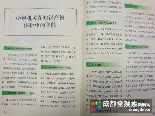 保護知識產權 成都3年逮捕241名知識產權侵權人