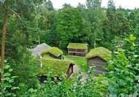 挪威的山地度假小木屋