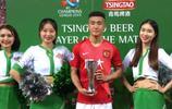 韋世豪當選為亞冠16強賽首回合廣州恆大與山東魯能比賽的最佳球員