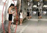 小巷子生意越來越難做了,姑娘一站就是一天,哎,都不容易(8)