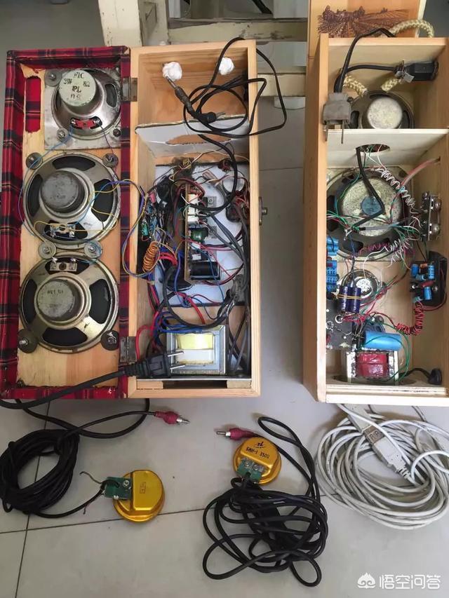 家裡有一對音箱一個功放,想連接手機,有什麼好的方案?