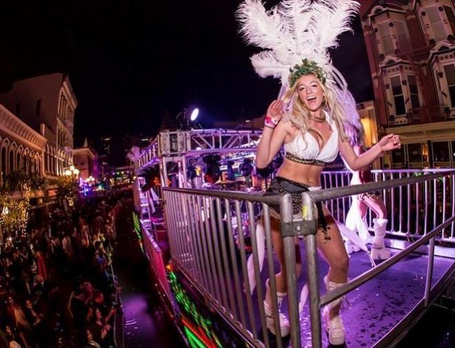 Mardi Gras–新奧爾良的狂歡節