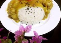 好吃的咖喱雞腿飯,在家就能做,不到10步超級簡單!