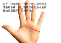 """""""桃花紋"""",告訴你如何看手相桃花紋"""