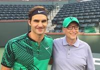 網球傳奇人物費德勒與比爾·蓋茨將舉行網球慈善比賽