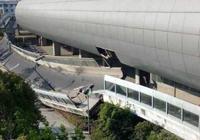 杭州蕭山一立交橋斷裂倒塌,澎湃新聞現場直播319萬人參與