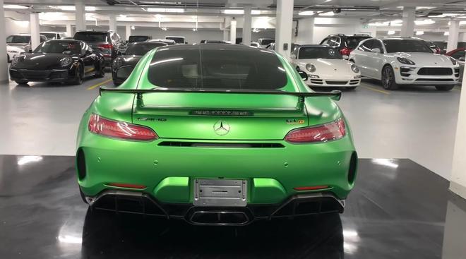 2019款美版奔馳AMG GTR到店實拍,氣場不輸911!