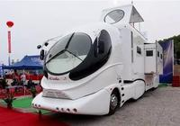 全球首款超豪華房車來自中國!16米長,有陽臺,還有觀景天台