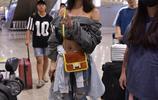 蔡依林現身機場 身穿一字露肩上衣 最近愛上秀香肩和性感蠻腰