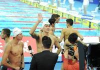 世遊賽第四日 孫楊領銜中國隊衝進4X200米決賽 傅園慧小組第二進入半決賽