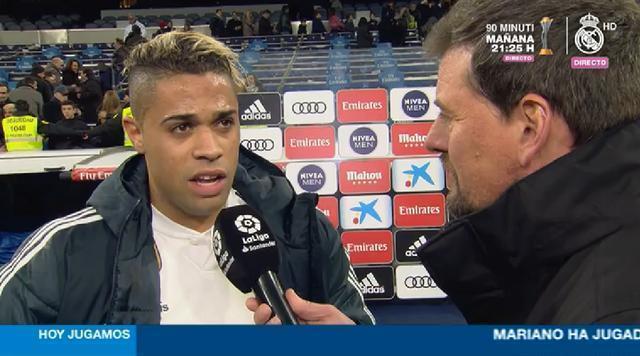 馬里亞諾:傷停很久之後再為皇馬進球,我就不緊張了