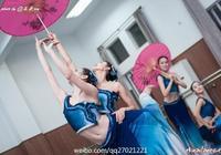 上海戲劇學院舞蹈學院課堂照片,跳舞的姑娘惹人愛~