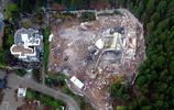 """濟南違建超豪華別墅""""大白宮""""被拆,佔地約三畝,住了20多年"""