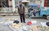 山東73歲農民大爺老手藝純手工,大集上老鄉們喜歡,一種家的味道