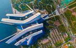 航拍:網紅未來打卡聖地,提前看看即將開館的國家海洋博物館