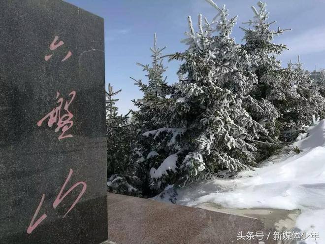 雪後六盤山,太美啦!