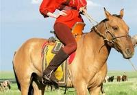 草原上騎馬的姑娘/隴阪行者