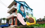 用藝術取代標語口號,江西有個3D村,遊客進村如穿梭畫中