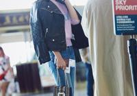 張儷也忒會穿了吧!減齡又時尚,她的這些「破褲子」你敢穿嗎