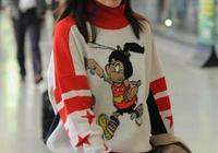 37歲董潔素顏現機場,穿的像個高中生,網友:這是真嫩不是裝嫩