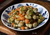 蠶豆別再清炒了,這樣搭配味道濃郁,簡單營養又好吃,孩子要多吃