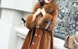 聰明女人都買羊剪絨大衣,體現女王優雅高端氣質,時髦顯瘦美無邊