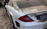迪拜街頭被沙子摧毀的豪車,蘭博基尼全身是土,法拉利讓人憐惜