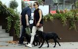 凱特王妃的妹妹皮帕米德爾頓獨自外出遛狗,兩隻黑色狗狗惹人眼