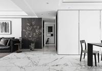 160平方米現代極簡風格家居裝修實景——意與境