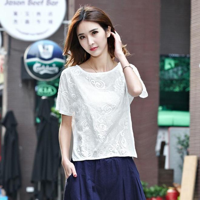 棉麻上衣將在17夏天瘋狂流行,最低38元,表姐一口氣買了五件