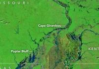 NASA發佈從太空拍攝的美國中西部照片 顯示洪水發生後驚人的植被變化